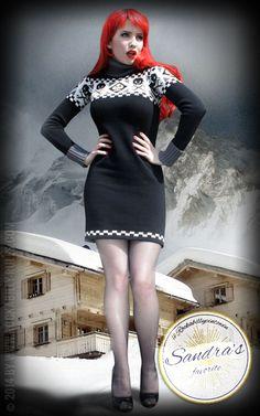 Sandras Lieblingsartikel ist das Kleid Dress Racing Skulls. Sandra liebt das Kleid so sehr, weil es warm und trotzdem sexy ist. Außerdem lässt es sich super zu dicken Strumpfhosen, Boots oder zu engen Jeans kombinieren.