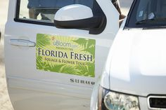 The Florida Fresh Tour Vehicle... making our way to America's Foliage and Flower Farms in Florida!