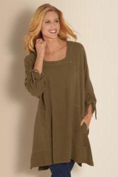 Kensington Top - Dolman Sleeve Tops, Tops & Tees, Clothing | Soft Surroundings