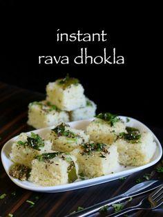 33 best gujrati food images on pinterest dhokla recipe khaman rava dhokla recipe instant sooji dhokla suji ka dhokla with step by step photo forumfinder Images