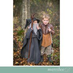 DIY Gandalf and Legolas costumes!