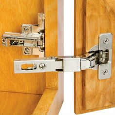 Salice® Hinge and Plate for Lipped Face Frame Doors overlay hinges for cabinets Kitchen Cabinets Hinges, Cabinet Door Hardware, Inset Cabinets, Kitchen Cabinet Remodel, Diy Kitchen Remodel, Kitchen Cabinet Doors, Sliding Barn Door Hardware, Diy Cabinets, Barn Doors