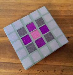 FOR SALE: Pretty handmade mosaic coaster - £4.99. Can also make in your fave colours, simply message me at themosaicqueen@yahoo.co.uk or visit https://www.facebook.com/themosaicqueen ❤️