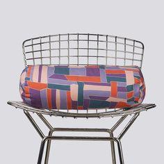 Checkerbox Spring Bolster Pillow
