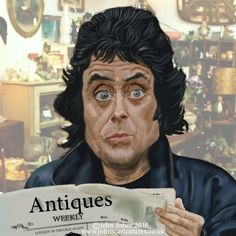 Ian McShane or should that be Lovejoy?..