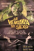 The Curious Dr. Humpp was one of the first signs that the carnal upheaval of the psychedelic 60s was getting out of hand in South American filmdom: Better known by its original name, La Venganza Del Sexo is an Argentine (black and white) cult flick that kicks off with a mosaic of virile people making out, smoking grass, performing stripteases, groping each other, getting naked, panting and licking one another and drinking themselves into nothingness.