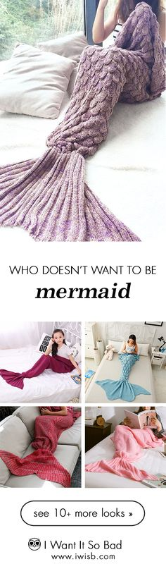 Are you looking for mermaid tail blankets? IWISB.com offers the latest mermaid tail blankets. Free shipping worldwide. #mermaidblanket #mermaidtailblanket #crochetmermaidblanket