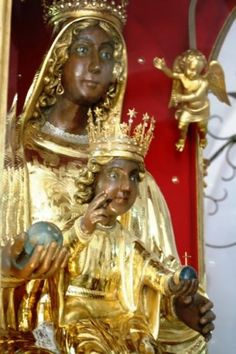 Monte-viggiano, Italy, The Black Madonna of the Sacred Mount Viggiano 1