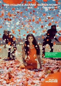 United Colors of Benetton's global campaign for the UN International Day for the Elimination of Violence Against Women