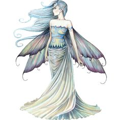 Molly Harrison Fairy Art and Fantasy Art: Official Gallery ❤ liked on Polyvore featuring fairies, art, people, sketch and art sets