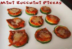 Mini Zucchini Pizzas! Recipe here: http://www.peta.org/living/food/mini-zucchini-pizzas/ #healthyfood #veganrecipe #veganfood