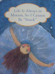 Het gevoel dat je vastzit? Het leven is altijd in beweging. Zet een stap terug, een naar rechts en dan weer een vooruit. #ennuaandeslag