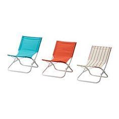 @12.50 HÅMÖ beach chair, assorted colours Width: 54 cm Depth: 65 cm Height: 63 cm