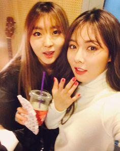 4Minute Sohyun & Hyuna