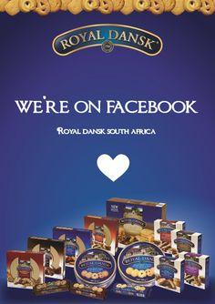 We're on Facebook - Royal Dansk South Africa South Africa, Competition, Social Media, Facebook, Life, Social Networks, Social Media Tips