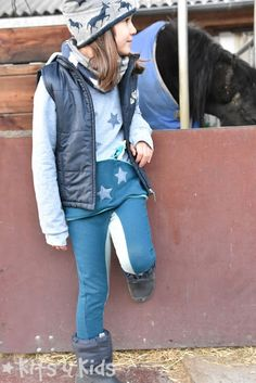 Kits 4 Kids: Einfach Selbermachen Stretch Jeans, Coming Out, Pullover, Vest, Jackets, Fashion, Riding Breeches, My Daughter, Sewing For Kids