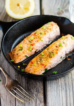 Easy Ginger, Chili and Lemon Salmon (and that's nearly the whole ingredient list!)