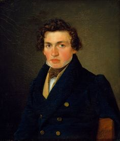 Portrait of a Young Man (1832), Wilhelm Bendz