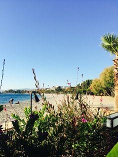 Beach side greece