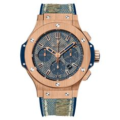 #Hublot Big Bang Jeans Rose Gold #Watch