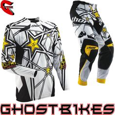 Thor Core S13 Rockstar Motocross Kit  Description: The Thor Core 2013 Rockstar Energy Motocross Kit is packed       with features..              Jersey Specification                      New collar construction includes two large stretch knit panels for         easy entry and exit                    Moisture wicking, 100% poly...  http://bikesdirect.org.uk/thor-core-s13-rockstar-motocross-kit-12/