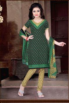 THANKAR Multy Printed Crepe Dress Material e66e3ce7ff3bd
