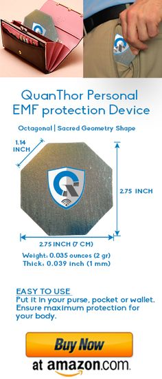 Emf blocker, cell phone emf protection, cell phone radiation - our solution protect yourself and your loved ones from EMF exposure. QuanThor is the best dev