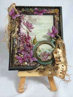 Just4FunCrafts and DoveArt Studios: Amazing Creations with @Carmelita Mitchell Cimicata  and #Stampendous & #ETIResin