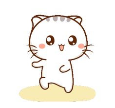 LINE Creators' Stickers - Wen small meow 3 Example with GIF Animation Cute Bear Drawings, Cute Little Drawings, Love Wallpaper Backgrounds, Cute Cat Wallpaper, Cute Love Pictures, Cute Love Gif, Cute Cartoon Pictures, Cute Love Cartoons, Animated Emoticons