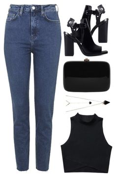 """""""#893"""" by anna-annita ❤ liked on Polyvore featuring Zara, Topshop, Rocio and Wildfox"""