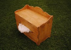 Kleenex Tissue Box Cover Birchplywood - colour : oak (oil-painted) #StyleOC