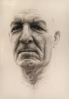 """Saatchi Art Artist Annemarie Busschers; Painting, """"Father llll"""" #art"""