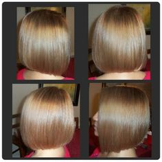 Short Bob. Color and cut by Khadee.