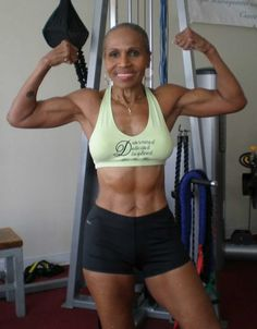 Born in 1936! She didn't start lifting until later in life. INSPIRING