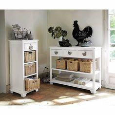 geschnitzte wei e truhe aus gealtertem massivem mangoholz wei e truhe shiva und truhe. Black Bedroom Furniture Sets. Home Design Ideas