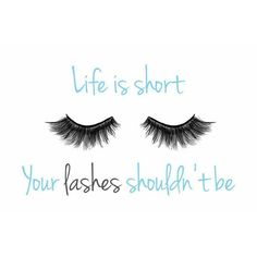Life is short. Your lashes shouldn't be! #lashes #fakelashes #longlashes #beautytips #beauty #makeup #mua #follow