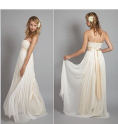 Would be lovely as a coloured bridesmaid dress