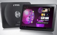 The Samsung Galaxy Tab 10.1V Android 3.0 Honeycomb tablet. Image: Samsung