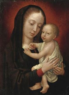 Pieter Huys: Virgin and Child Blessed Mother Mary, Blessed Virgin Mary, Early Christian, Christian Art, Symbolic Art, Light Of Christ, Images Of Mary, Mama Mary, Biblical Art