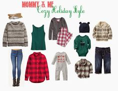 Mommy & Me: Cozy Holiday Style