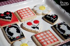 Mary Poppins cookies - Design Dazzle