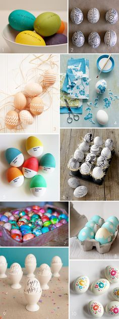 10 Amazing DIY Easter Egg Projects