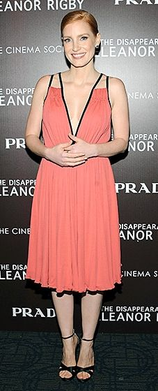 """Jessica Chastain: """"The Disappearance of Eleanor Rigby"""" New York Screening"""