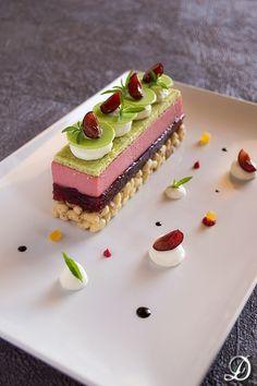 Cherry dessert, Mascarpone and Maria Luisa