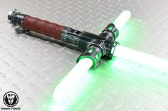 Lightsabers made from aerospace grade aluminum and the blades can be used for dueling #LightBlades #QualityProducts