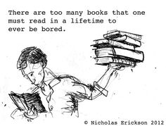 too many books, too little time.