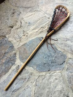 Vintage Wood Brine Lacrosse Stick Great Condition for Display or Play Nice | eBay