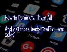 #socialmedia and #SEO domination