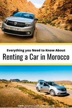 Are you wondering how renting a car in Morocco works? This article contains all the information you need about renting a vehicle and driving in Morocco. Africa Destinations, Road Trip Destinations, Holiday Destinations, Adventure Awaits, Adventure Travel, Travel Guides, Travel Tips, Travel Goals, Travel Advice