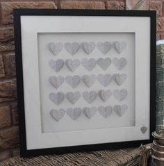 box of hearts coral lace by cowshed interiors | notonthehighstreet.com